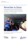 Remember to Dance. Evaluating the impact of dance activities for people in different stages of dementia